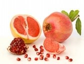 3865299-pomegranate-and-grapefruit-isolated-on-white-background